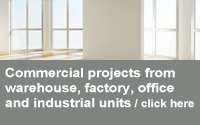 commercial projects and industrial developments